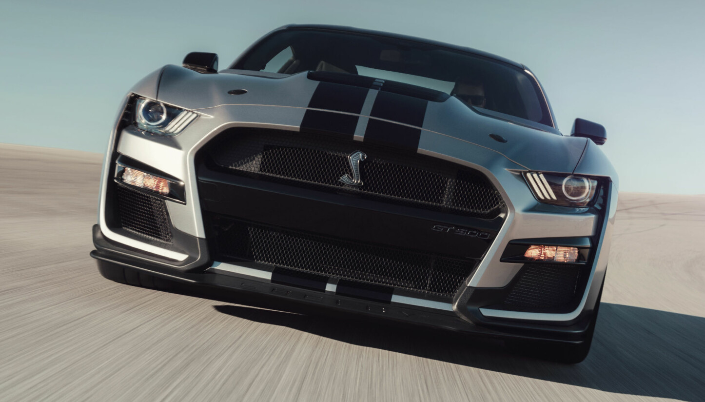 NY: Ford Mustang Shelby GT500.