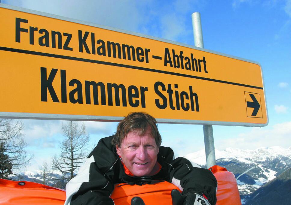 LEGENDE: Franz Klammer.
