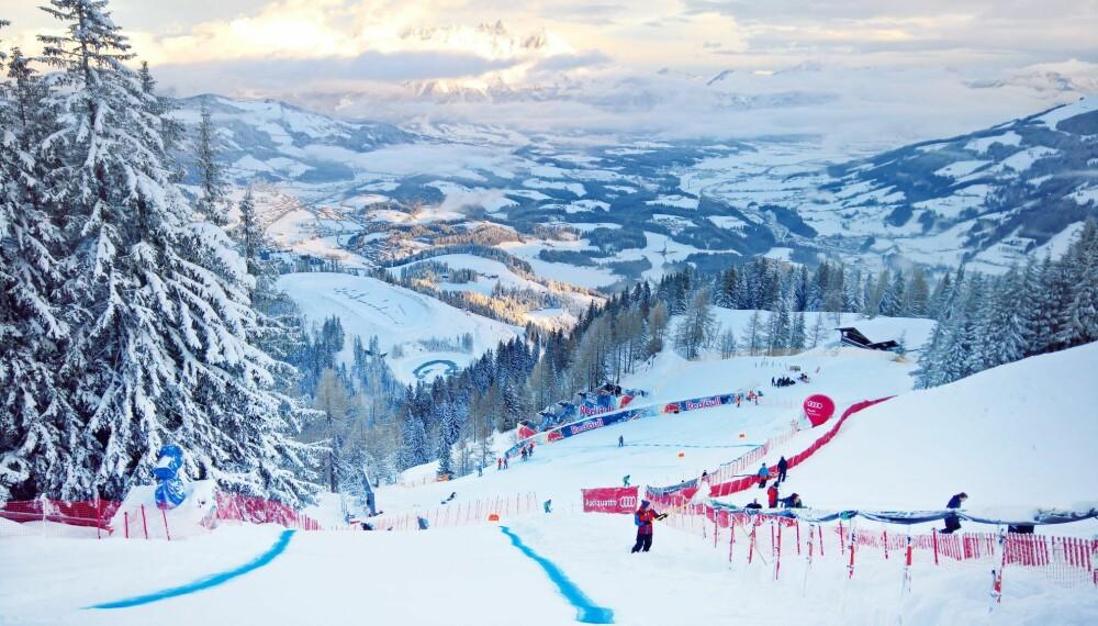 FART: I de raskeste partiene kommer farten på utforkjørerne opp i godt over 100 km/t. Da skal man ha skiene godt kantet gjennom svingene.