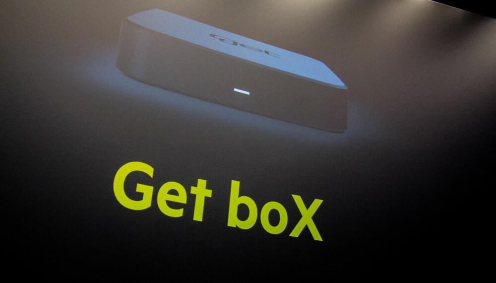 <b>GET BOX: </b>I mars kommer en ny TV-opplevelse til cirka 1,8 millioner Get-brukere. Den nye Get-boksen ligner ikke så lite på Apple TV både i form og størrelse.