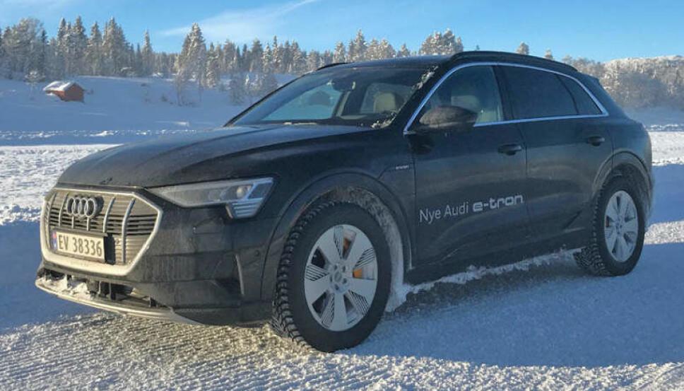 <b>SNART LEVERING:</b> Mange tusen norske kunder har bestilt e-tron, utleveringen av biler starter snart.