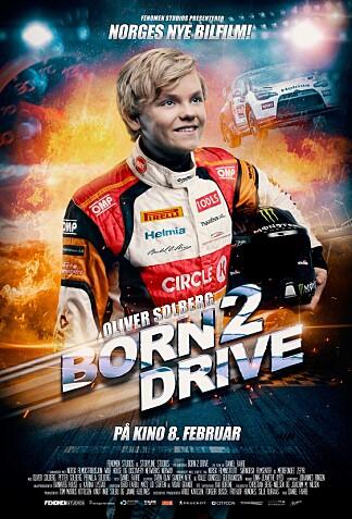 <b>BORN2DRIVE:</b> 8. februar filmdebuterer Oliver Solberg som filmstjerne i dokumentarfilmen som handler om veien mot VM-drømmen.
