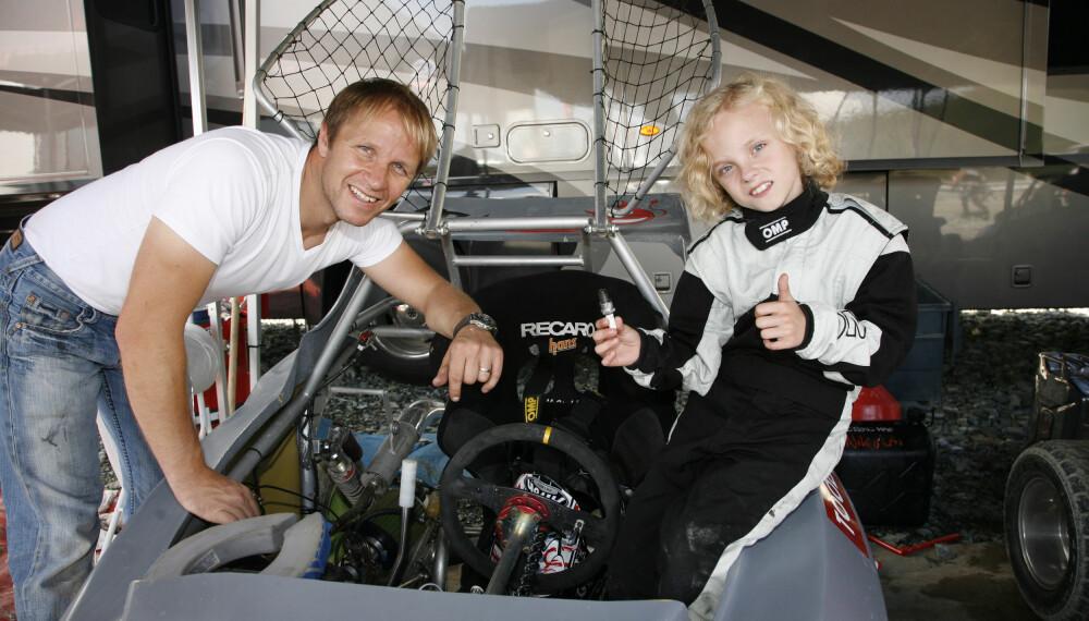 <b>SOM FAR SÅ SØNN:</b> Oliver Solberg er vokst opp med motorsport, og vil bli bedre enn sin far, verdensmester Petter Solberg.