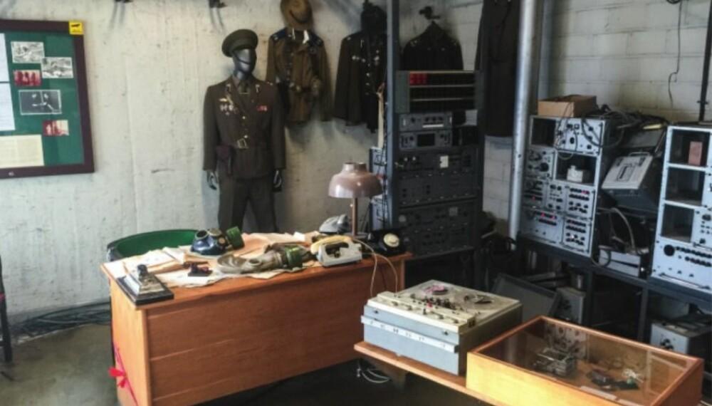 <b>Full oversikt: </b>Fra dette hemmelige rommet styrte KGB sine agenter i Norden, og avlyttet alt som skjedde på hotellet.