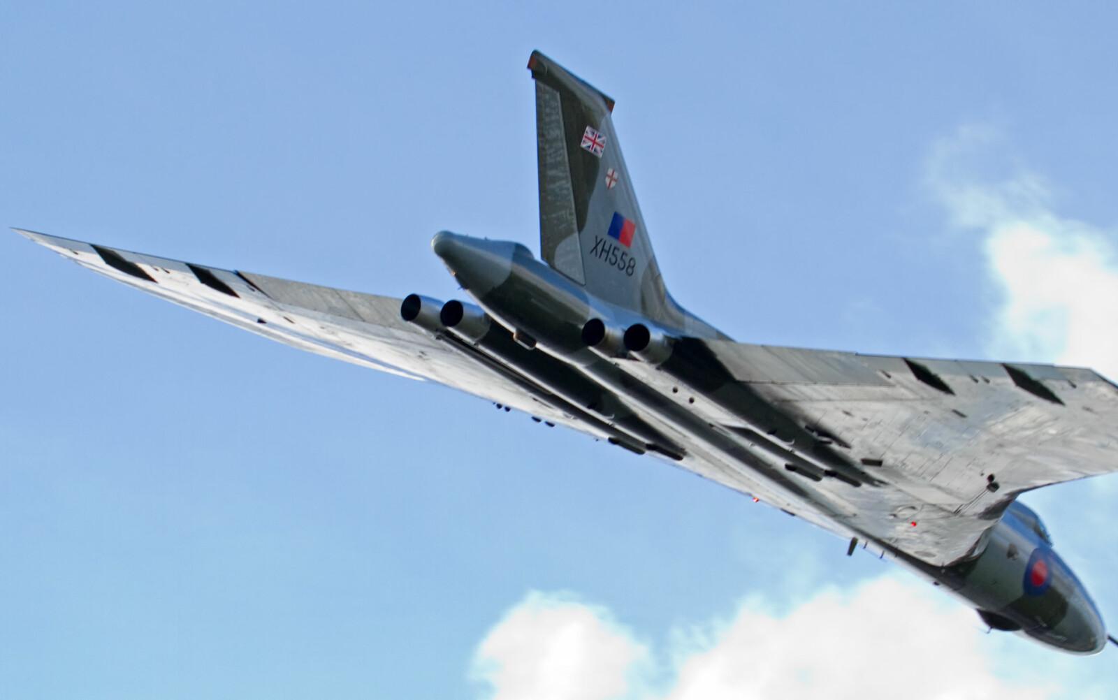 DELTAVINGE: Det supersoniske bombeflyet Avro Vulcan gikk på vingene så tidlig som i 1952.