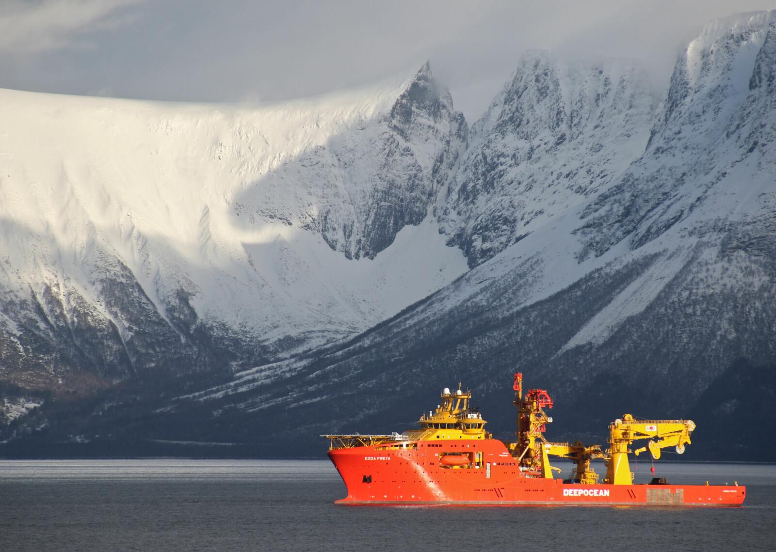 <b>NORSK: </b>Edda Freya er et av verdens mest avanserte skip i sitt slag - og det er norsk.