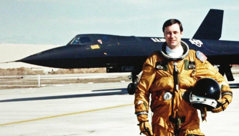 OPPSIKTSVEKKENDE: SR-71 Blackbird, verdens mest avanserte spionfly, måtte nødlande i Bodø.