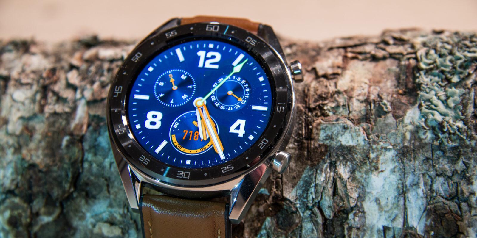 <b>SMARTKLOKKE: </b>Huawei Watch GT er litt smartklokke og litt treningsklokke.