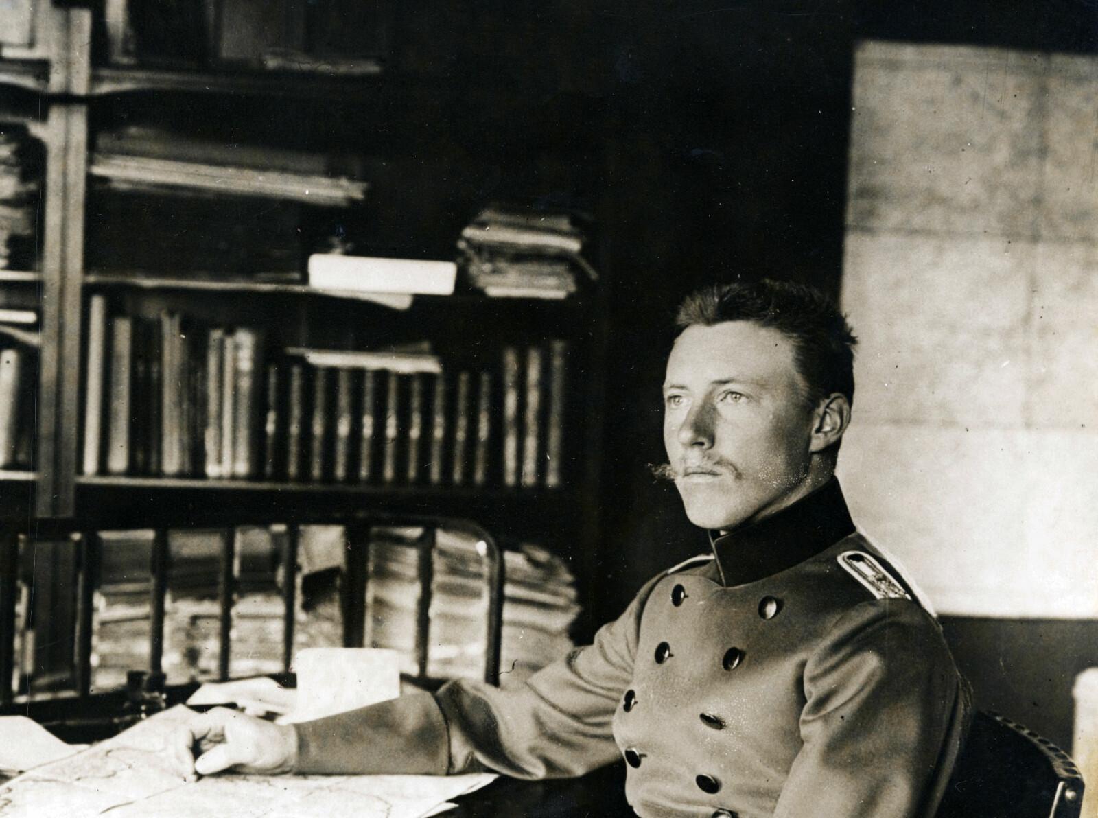 SPION: Tyske Wilhelm Filchner brukte vennskapet til sin venn Fritdtjof Nansen i et spill som kostet mange norske sjøfolk livet.
