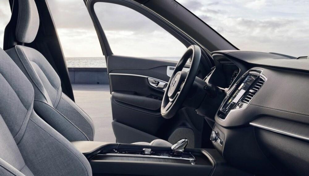 <b>EKSKLUSIVE STOFFTREKK: </b>Eksklusive setetrekk i stoff kommer nå på flere bilmodeller, Volvo er blant dem som forsker på dette.
