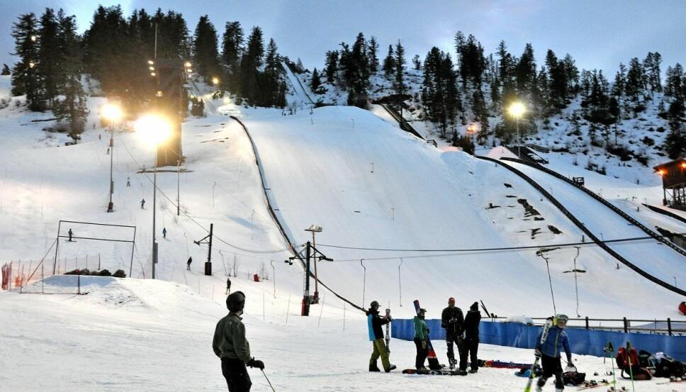 <b>BLOMSTRER:</b> Howelsen Hill er i dag Amerikas eldste, operative skisenter. Det ble grunnlagt av Karl Hovelsen i 1914.