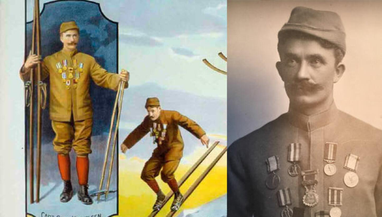 <b>STJERNE:</b> Karl Hovelsen fra Oslo kunne mer enn å vinne 5-mila i Holmenkollen. I 1907 var han den største stjernen på P.T Barnums sirkus i New York.