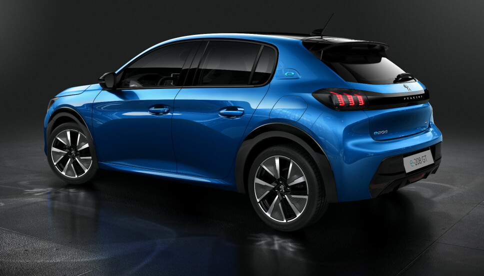 <b>BØLLEFRØ:</b> Vi er optimister og håper at e-208 har arvet noe av kjøregleden i Peugeots legendariske GTI-modeller.