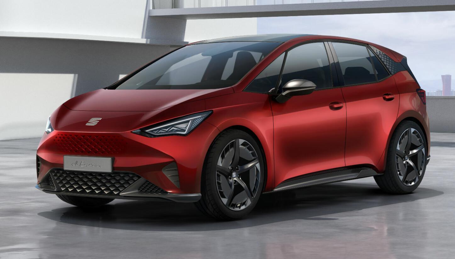 <b>SEAT EL-BORN:</b> Neste år kommer Seat med sin første elbil.