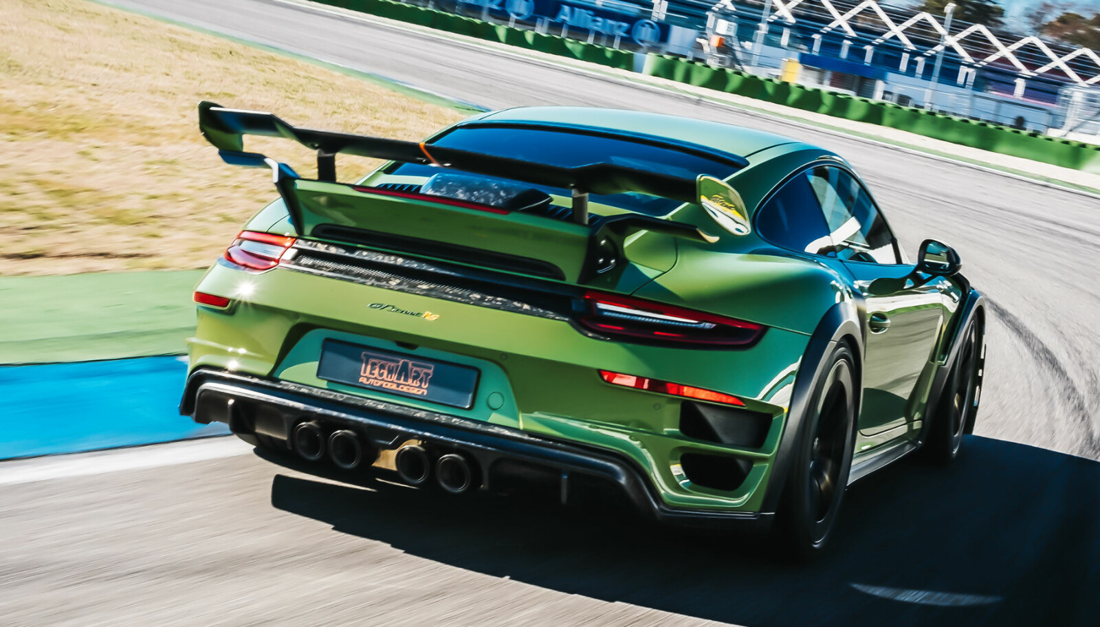 <b>TECHART:</b> GT Street RS er basert på 911 Turbo S.