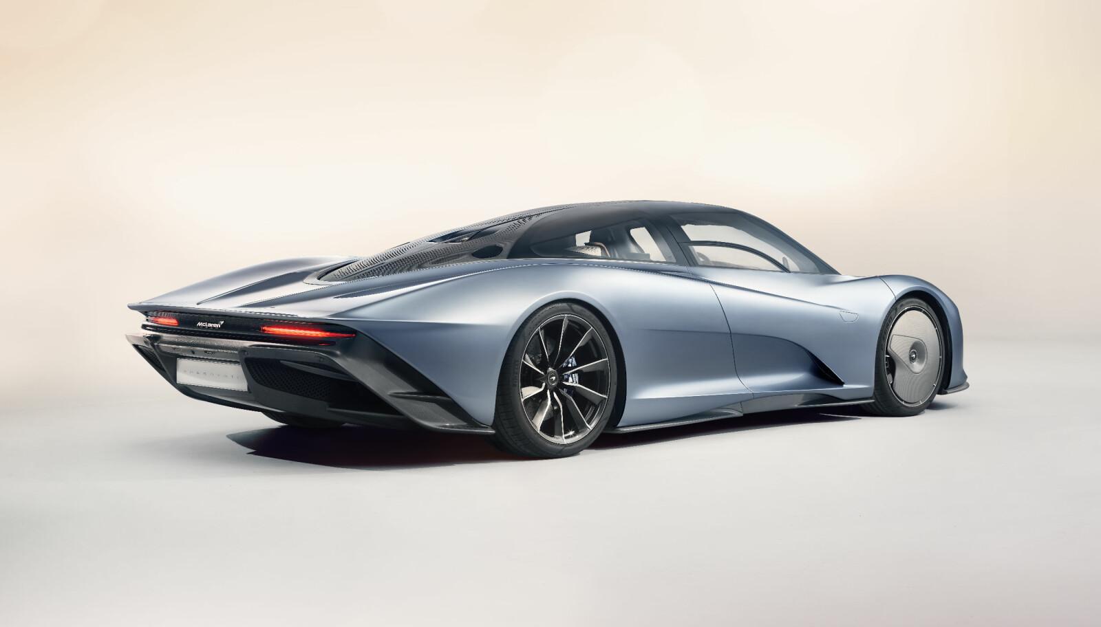 <b>SPESIELL:</b> McLaren Speedtail.