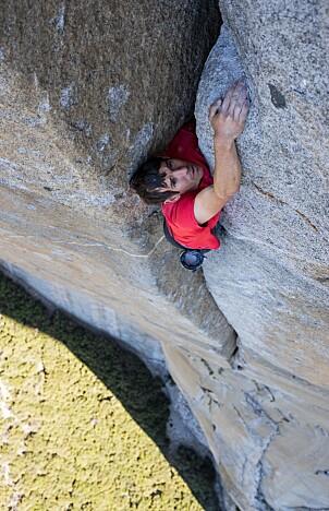 <b>FREE SOLO:</b> Filmen om Honnolds klatrebragd har mottatt flere priser.