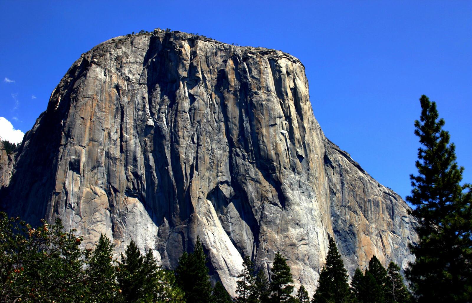 <b>FRYKTET VEGG:</b> El Capitan-veggen er neste 1000 meter høy.