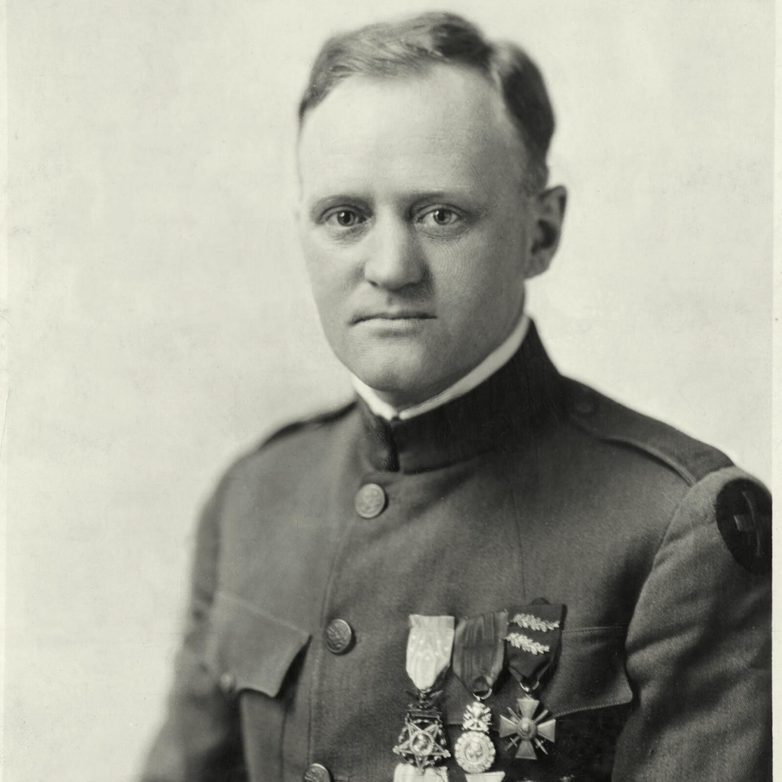 <b>DEN BESTE:</b> Berger Loman fra Bergen fikk de beste omtaler av USAs øverstkommanderene.