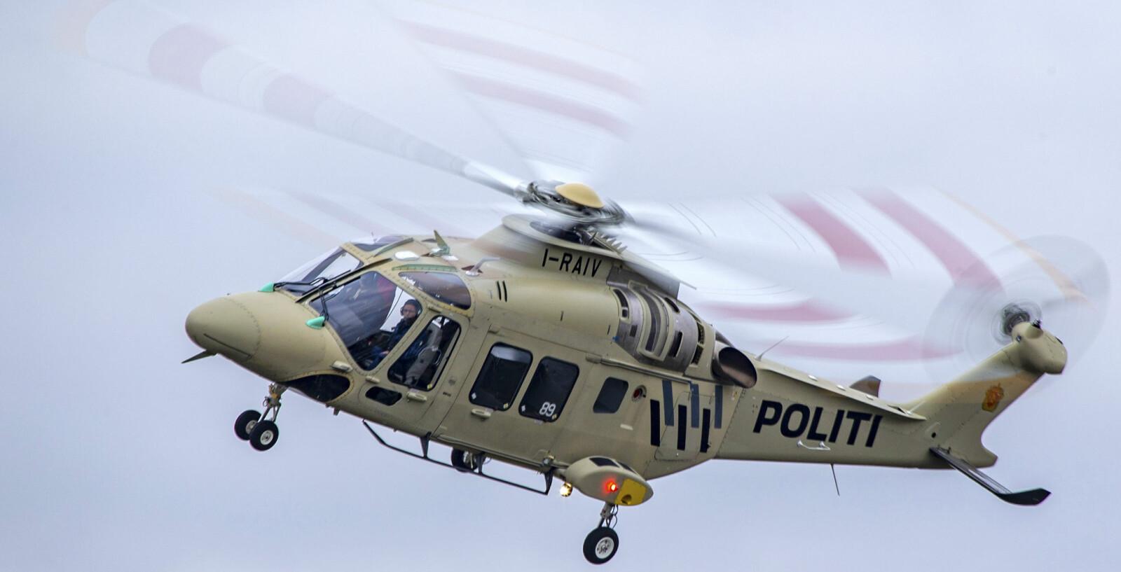 <b>NYTT HELIKOPTER:</b> I april kommer politiets nye helikoptre, AW169.