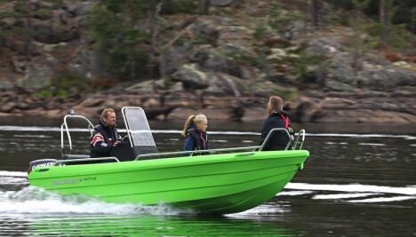 <b>PIONER 14 ACTIVE:</b> Drøyt 100 000 kroner for en solid småbåt med plass til fire