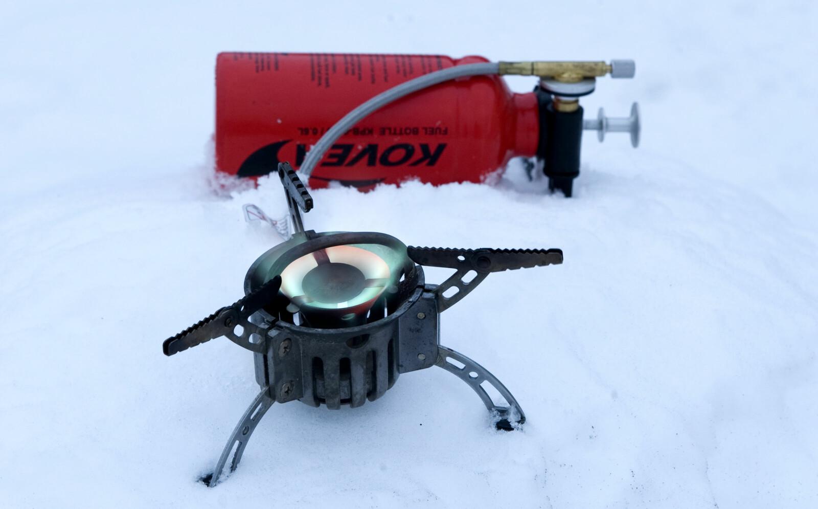 <b>ROBUST:</b> Kovea Booster +1 er en robust og pålitelig brenner.