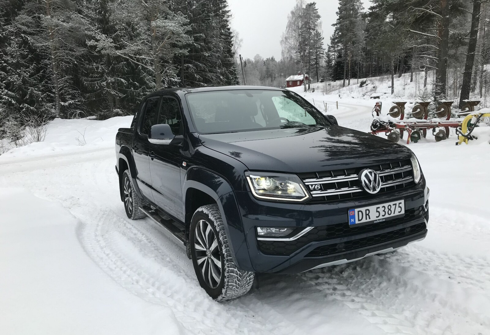 <b>PERMANENT:</b> VW Amarok har permanent 4Motion firehjulstrekk med selvsperrende Torsen-midtdifferensial.