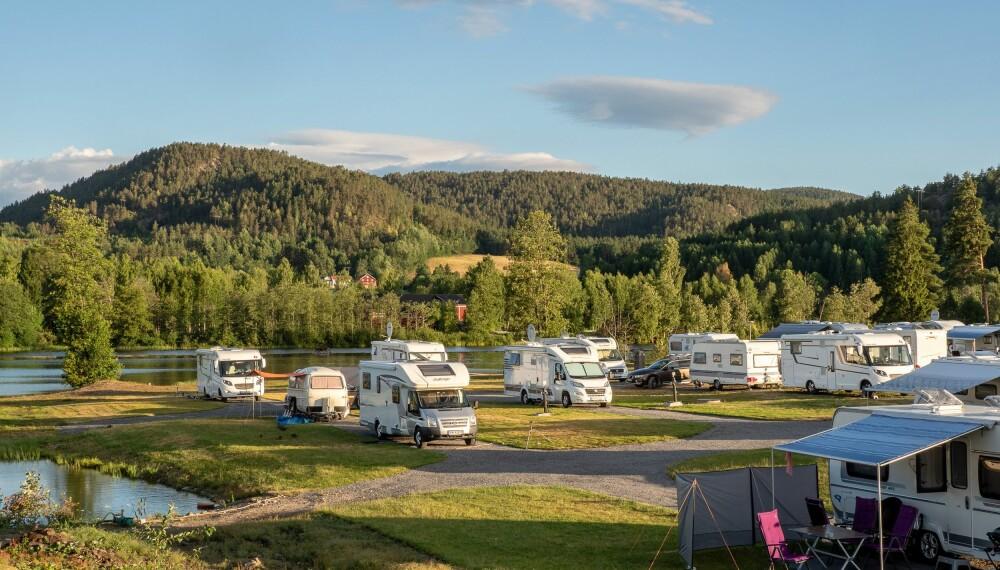<b>BOBILSATSING:</b> Telemark Kanalcamping henvender seg til alle grupper av campere, men satser mest på bobilsegmentet.