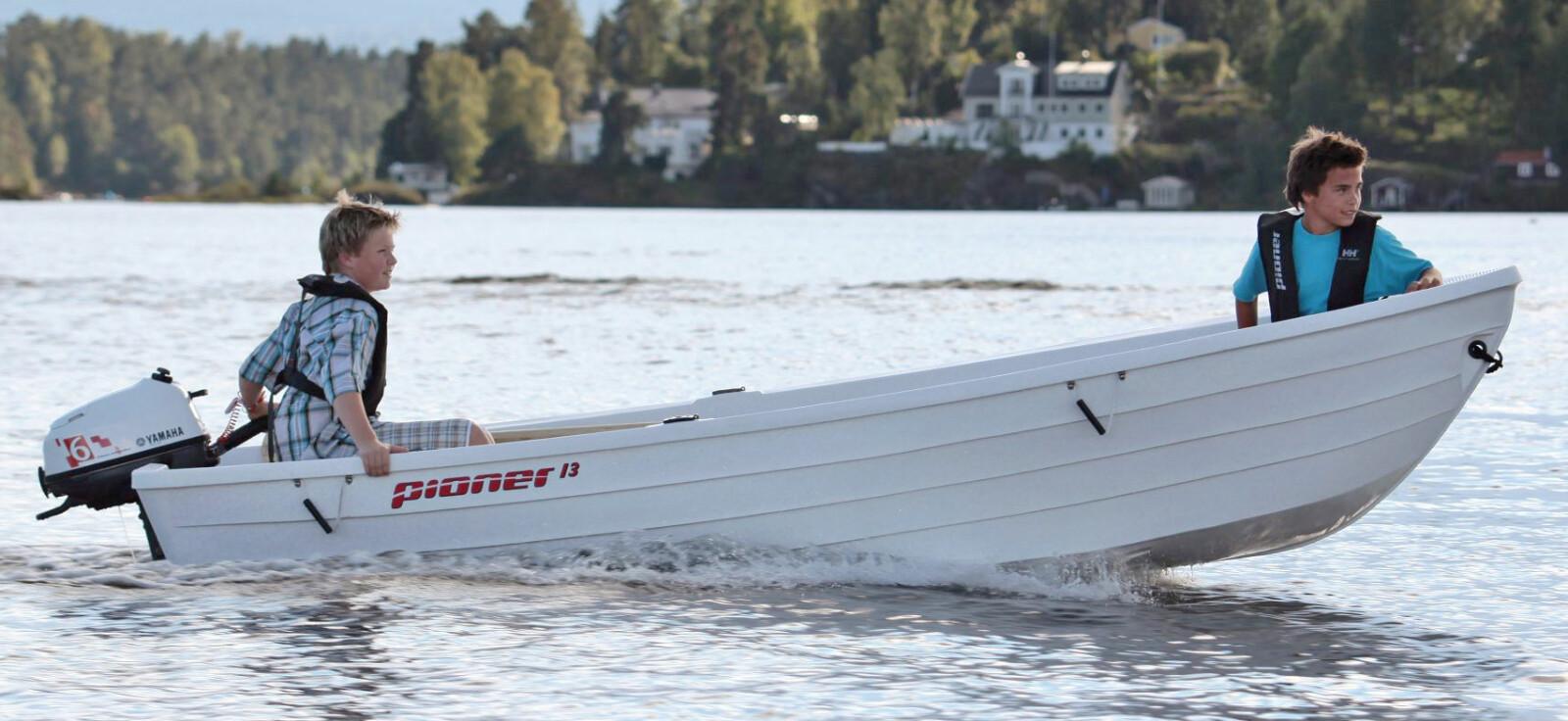 <b>BÅTGLEDEN BEGYNNER HER:</b> En enkel landstedsbåt med liten motor er et fint sted å starte.