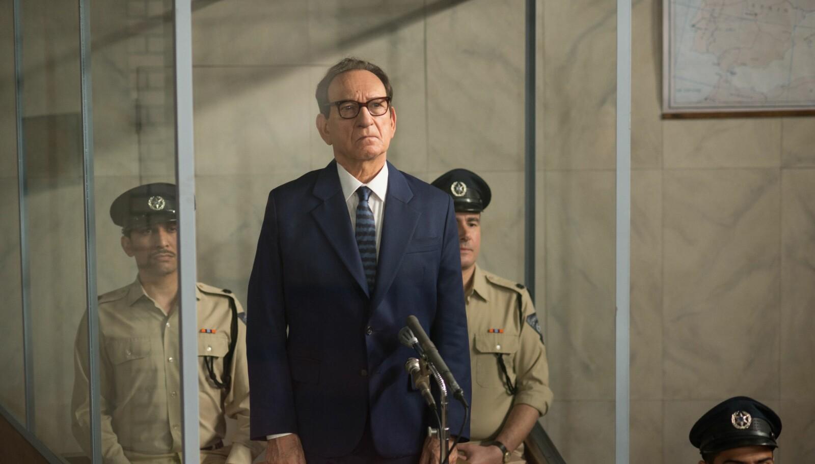 <b>STORNAZIST:</b> Ben Kingsley er glimrende i rollen som Adolf Eichmann i Operation Eichmann, eller Operation Finale som den heter på originalspråket.