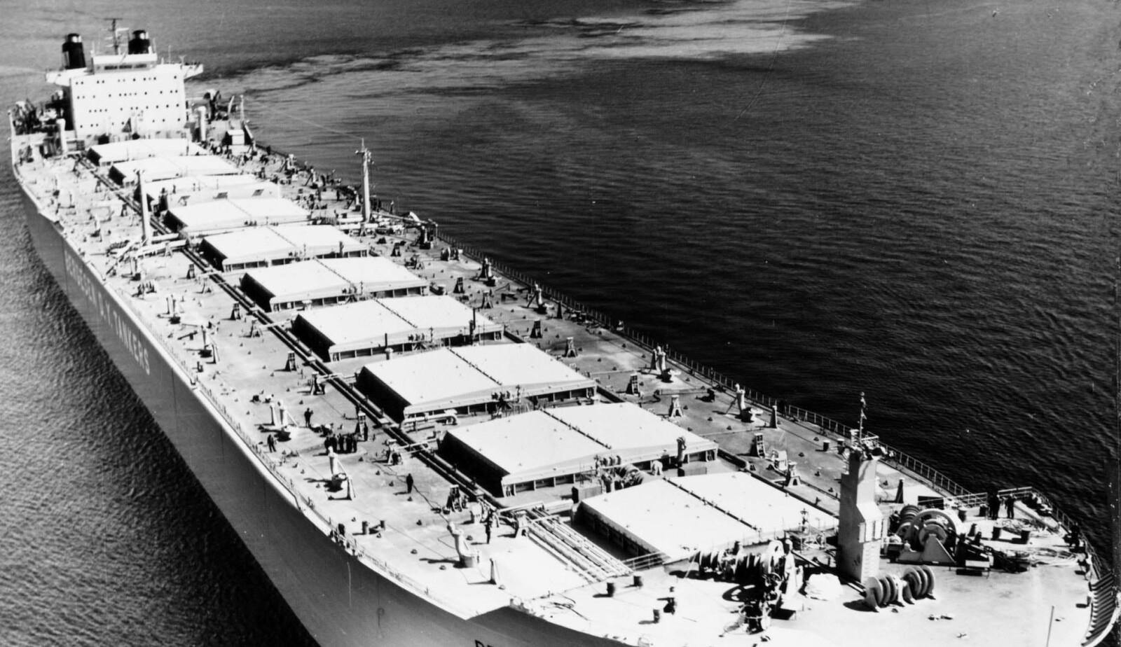 <b>GIGANT:</b> Det enorme lasteskipet var på vei over Stillehavet da det plutselig ble borte. Hvorfor katastrofen inntraff, forble lenge en hemmelighet.