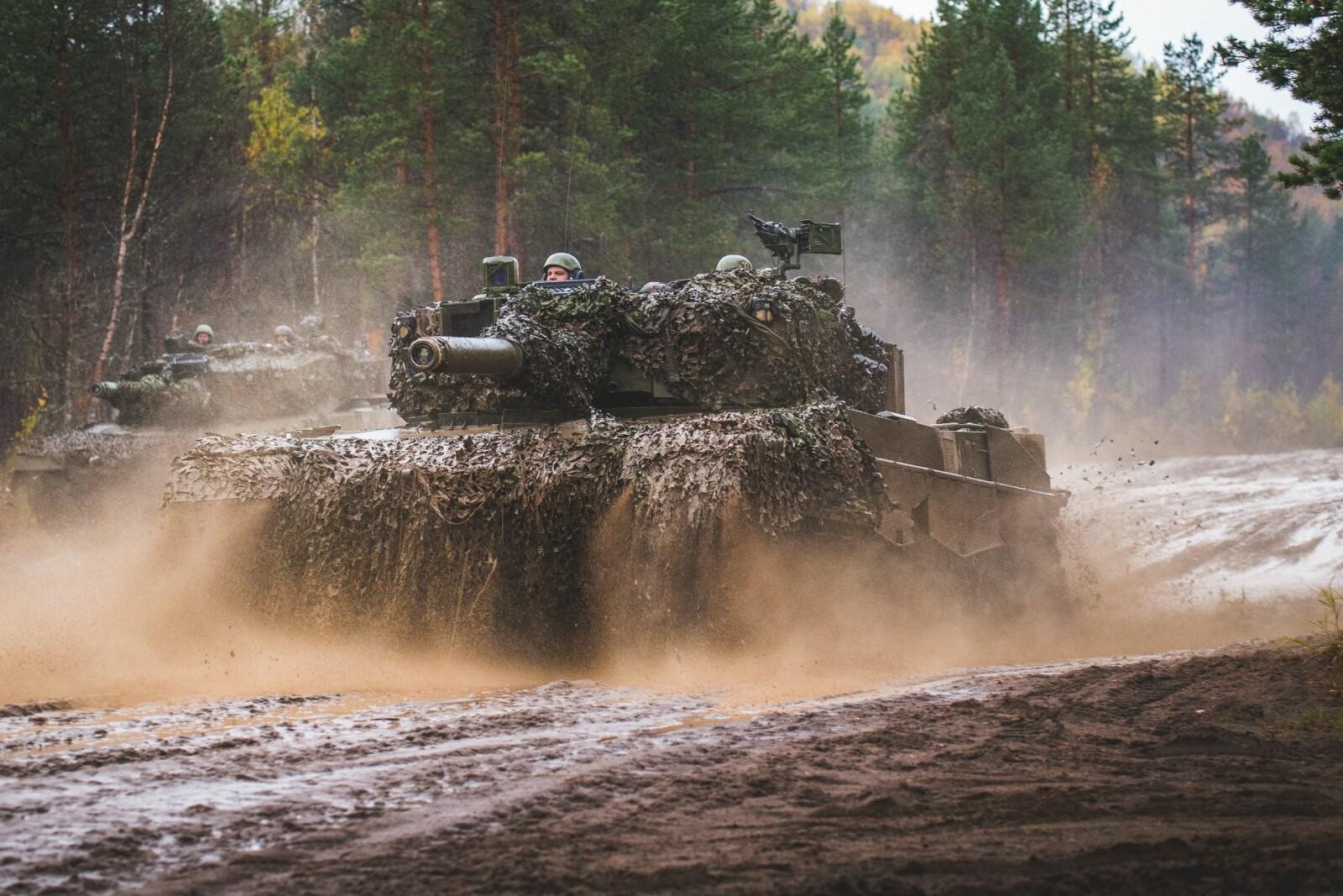 <b>LEOPARD:</b> Wisent 2s viktigste oppgave er støtteoppgaver for stridsvognen Leopard 2 (bildet). Wisent 2 er for øvrig basert på Leopard 2.