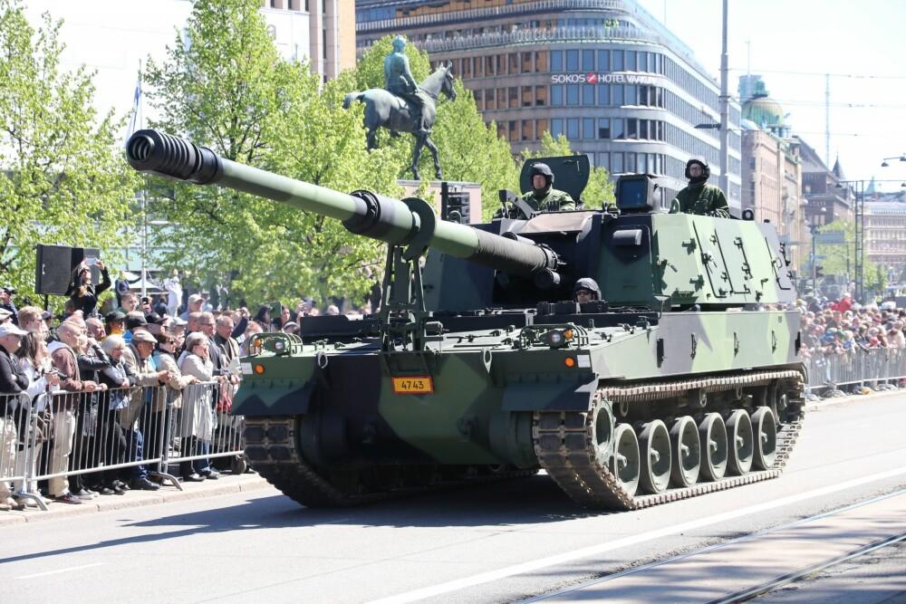 <b>K9:</b> Wisent 2 skal også fungere som støtte for den nye artillerivogna K9 Thunder (bildet) som er bestilt av Forsvaret og som skal erstatte den 50 år gamle M-109-vogna.