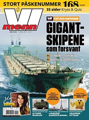 <b>LES MER:</b> I Vi Menns store påskeutgave kan du lese om hva som skjedde med de to norske gigantskipene som forsvant sporløst.