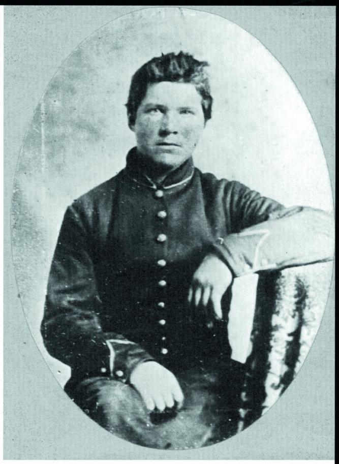 <b>POPULÆRT NAVN:</b> Over 1000 nordmenn som kjempet i den amerikanske borgerkrigen het Ole. Denne unggutten het Ole Steensland