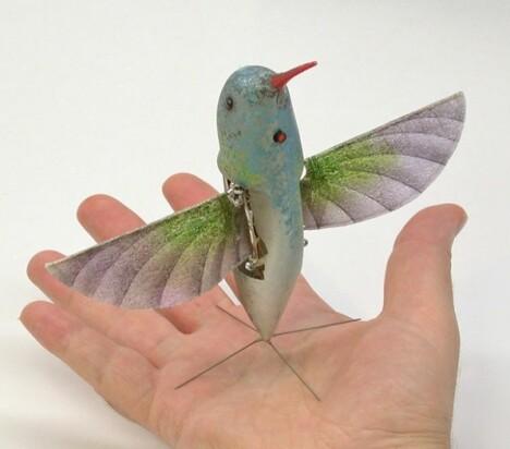 <b>NAV:</b> Nano Air Vehicle er nok alt utgått på dato,men inspirasjonen til dronen lånte DARPA fra naturen
