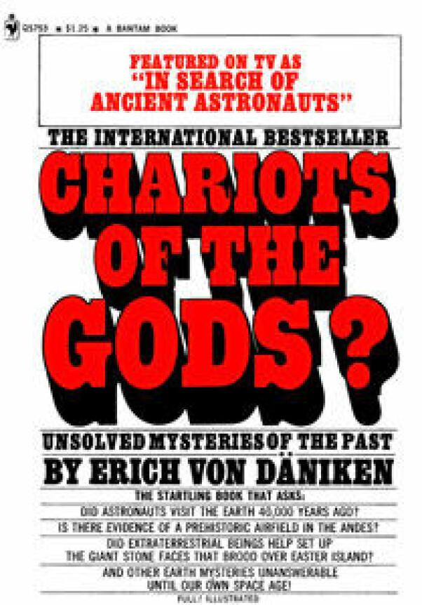 <b>FAVORITT:</b> John Charles Hoff hadde sansen for teoriene til Erich von Däniken.