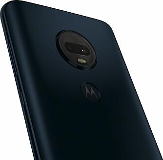 <b><SPAN CLASS=BOLD><STRONG>GODT KAMERA:</b></strong></span> Hovedattraksjonen på Motorola Moto G7 Plus er kameraet.