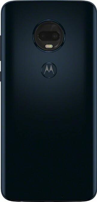 <b><SPAN CLASS=BOLD><STRONG>FINGERAVTRYKK:</b></strong></span> Vi er ikke kjempeglade i fingeravtrykkslesere på mobilens bakside, men på Moto G7 Plus kan du velge å bruke ansiktsopplåsing i steden.