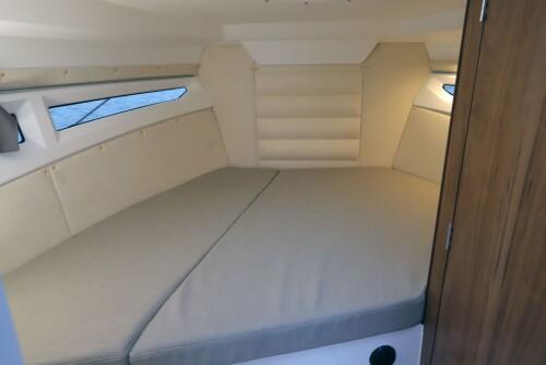 <b>SOVEPLASS: </b>Askeladden P79 har soveplass til 2-3 personer.