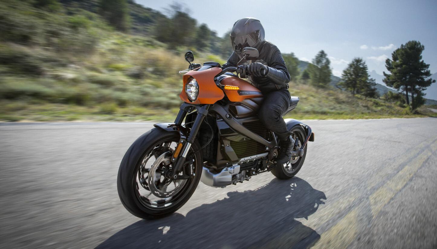 PRISEN KLAR: Harley-Davidson LiveWire er ventet til Norge i september.