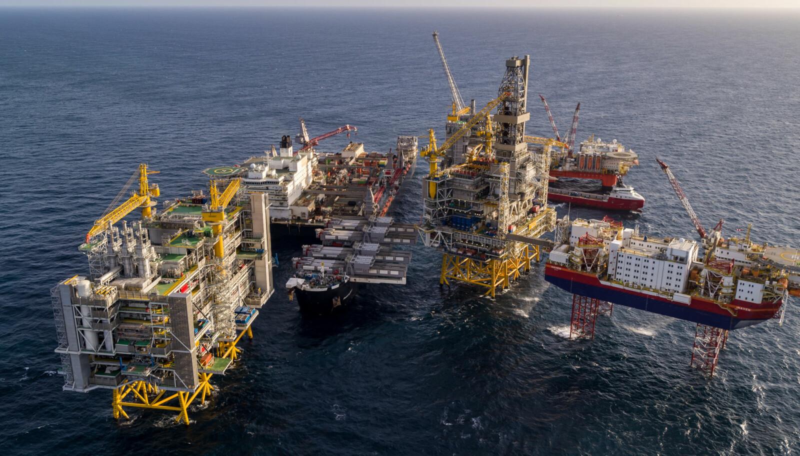 <b>VIKTIG:</b> Johan Sverdrup blir en viktig inntekskilde for Norge i mange år fremover. Hver dag skal 660.000 fat olje pumpes opp.