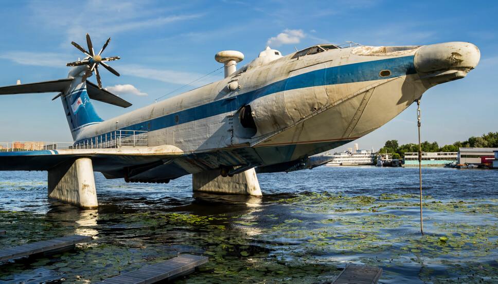 <b>NUMMER 5: </b>A-90 Orlyonok var en russisk hybrid som skulle kunne fly like over bakkenivå.