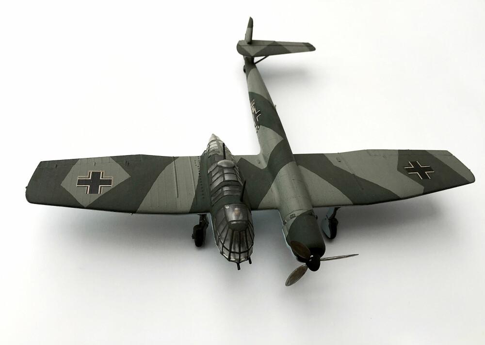 <b>NUMMER 8:</b> Blohm &amp; Voss BV 141 var en underlig konstruksjon