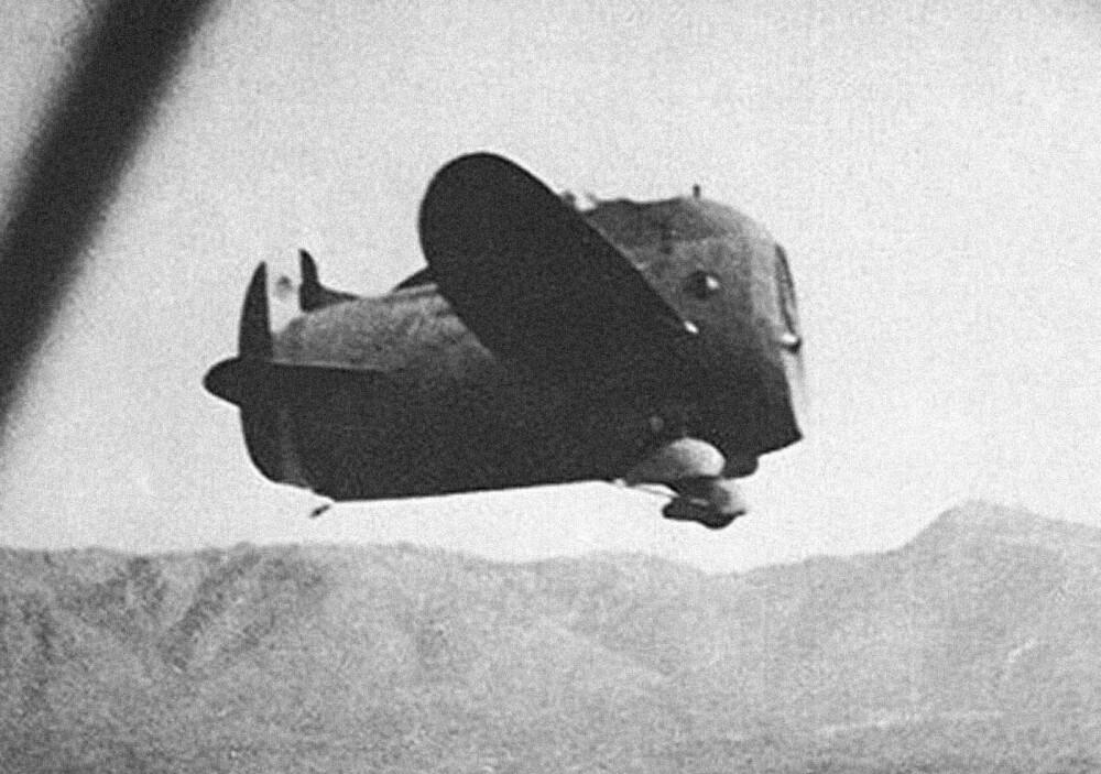 <b>NUMMER 9:</b> Stipa-Caproni - den flyvende tønne