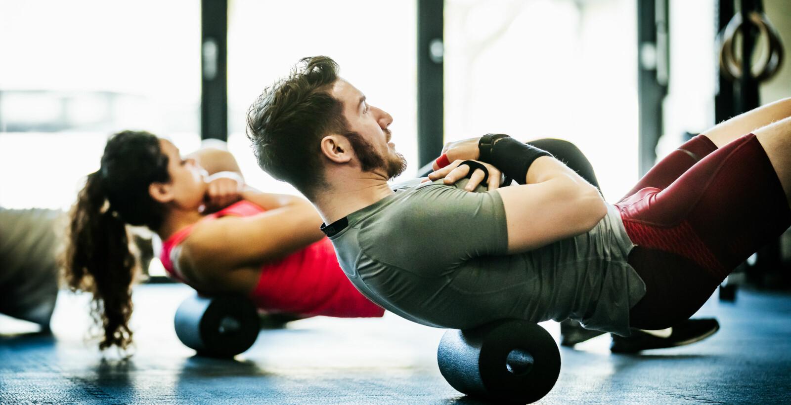 <b>FOR MYE TRENING:</b> For hard trening kan være skadelig.
