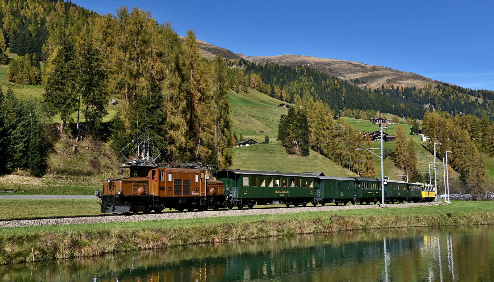 <b>KROKODILLE_LOKOMOTIV:</b> De legendariske lokomotivene har vært i tjeneste siden 1929.