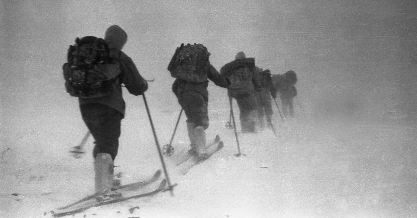 <b>INN I DET UKJENTE:</b> Det var ikke akkurat påskestemning på fjellet da ni russere dro på tur i Ural i 1959. Men en godpåskekrim ble det: Ingen av de ni overlevde, og ingen er helt sikre på hva som tok livet av dem.