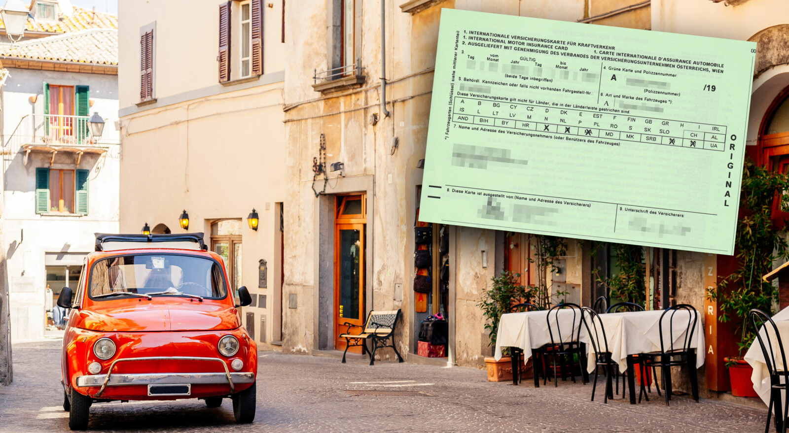 <b>GRØNT KORT: </b>Skal du på bilferie i Europa er det mange ting å huske på. Grønt kort er en ting du bør vurdere å skaffe deg før du drar.