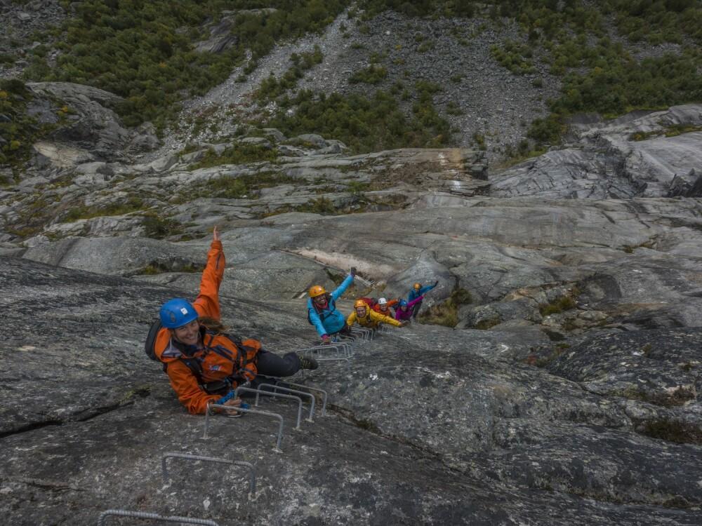 <b>VIA FERRATA:</b> Ny og bratt klatrerute til Trolltunga